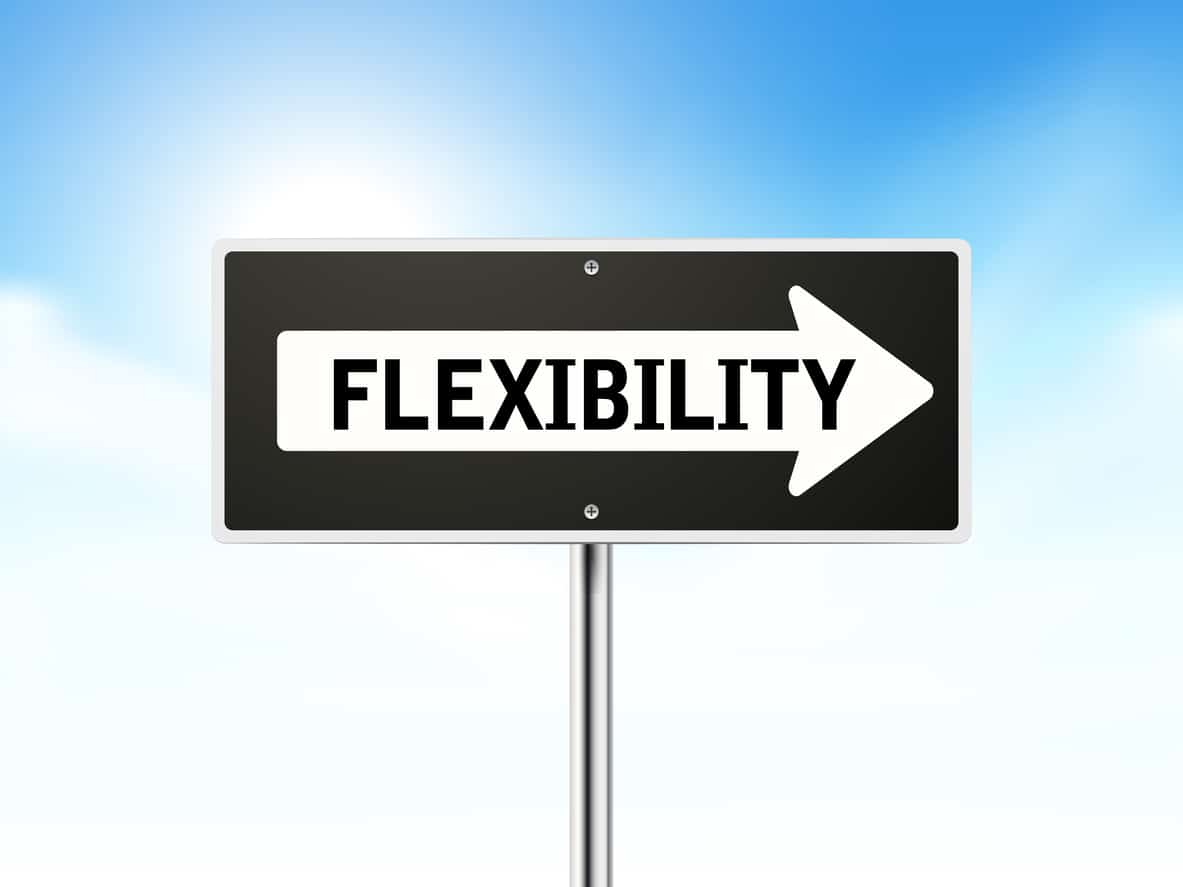 flexibility in retirement plans